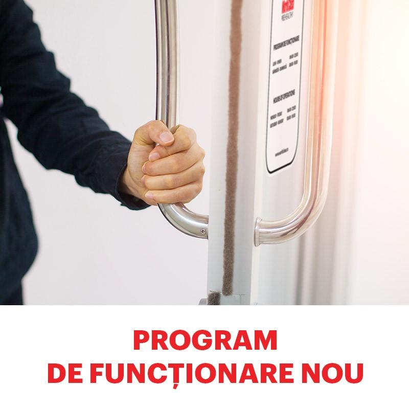 Program de funcționare nou
